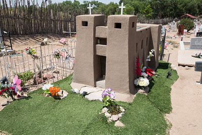 56 Mile Scenic Drive, New Mexico Sacred Heart Church, Nambe', Cemetary