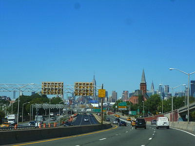 Driving to the Bronx to Arthur Ave.
