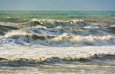 De zee omgetoverd tot schilderij...