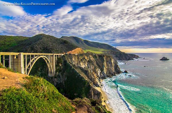 BIXBY BRIDGE / PACIFIC COAST HWY, CA