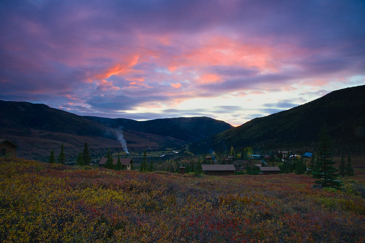 Sunset Camp Denali