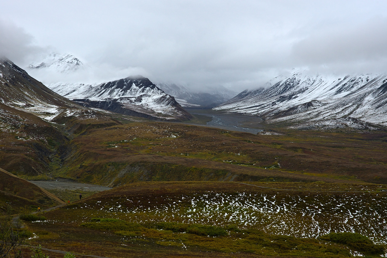 Eielson Visitor Center - View to the South
