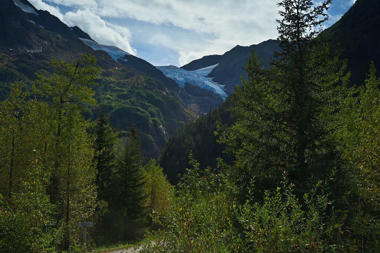 Hanging Glacier Chugach National Forest