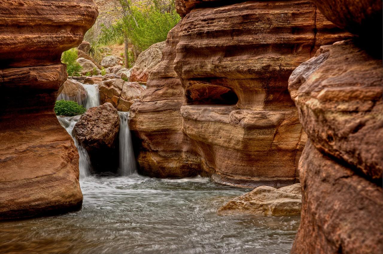 upper falls Deer Creek