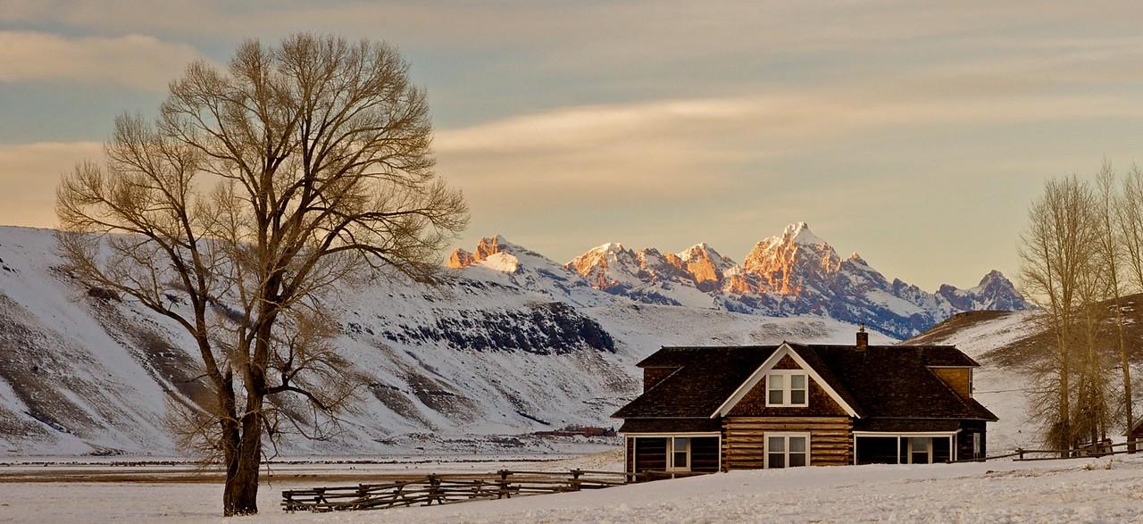 Tetons 2009 - Miller cabin
