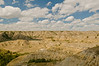 TRND-8064: Clouds over the Badlands near Medora, ND