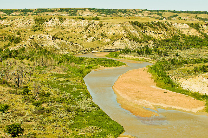 TRND-8020: Little Missouri River at Teddy Roosevelt NP