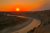 TRND-12016H: Lil' Missouri river sunset