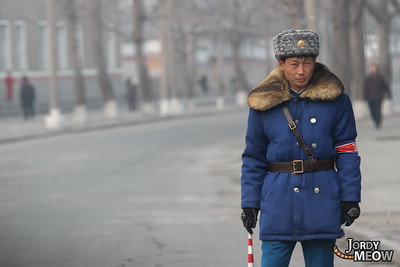 Traffic Man in DPRK