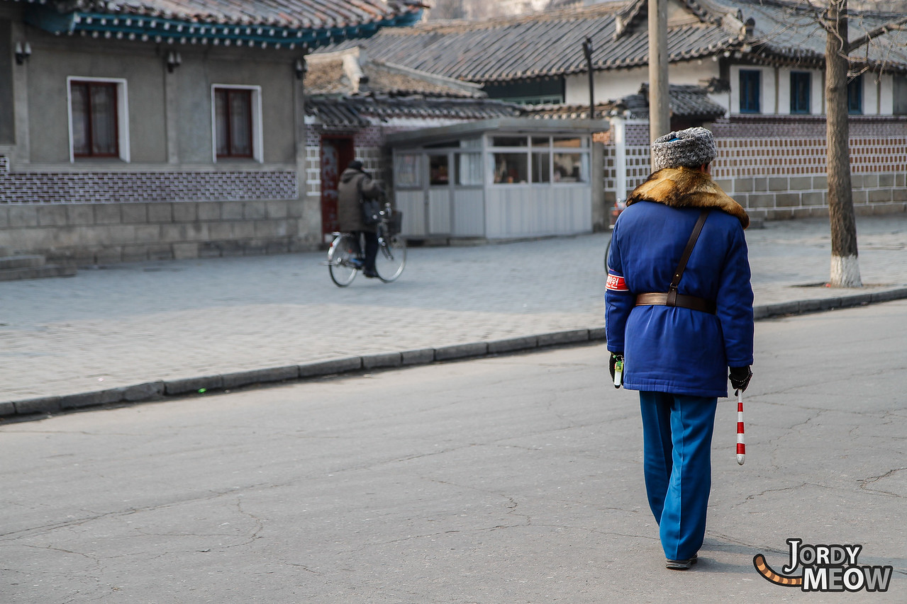 Traffic Man in DPRK
