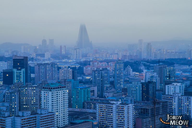 Pyongyang at Dawn