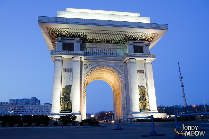 Arch of Triumph in Pyongyang