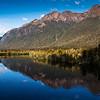mirror lakes, fiordland