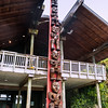 maori inspired totem - arataki visitor's centre