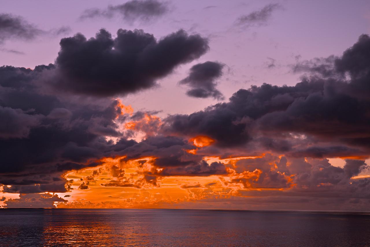 Sunset Indian Ocean