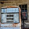 Old gas pump, Brownsburg Turnpike