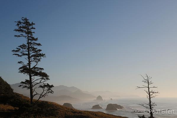 The wild Pacific Northwest coast in Oregon.