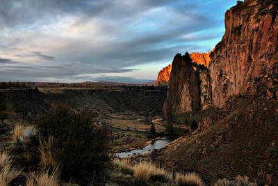 Dawn at Smith Rock