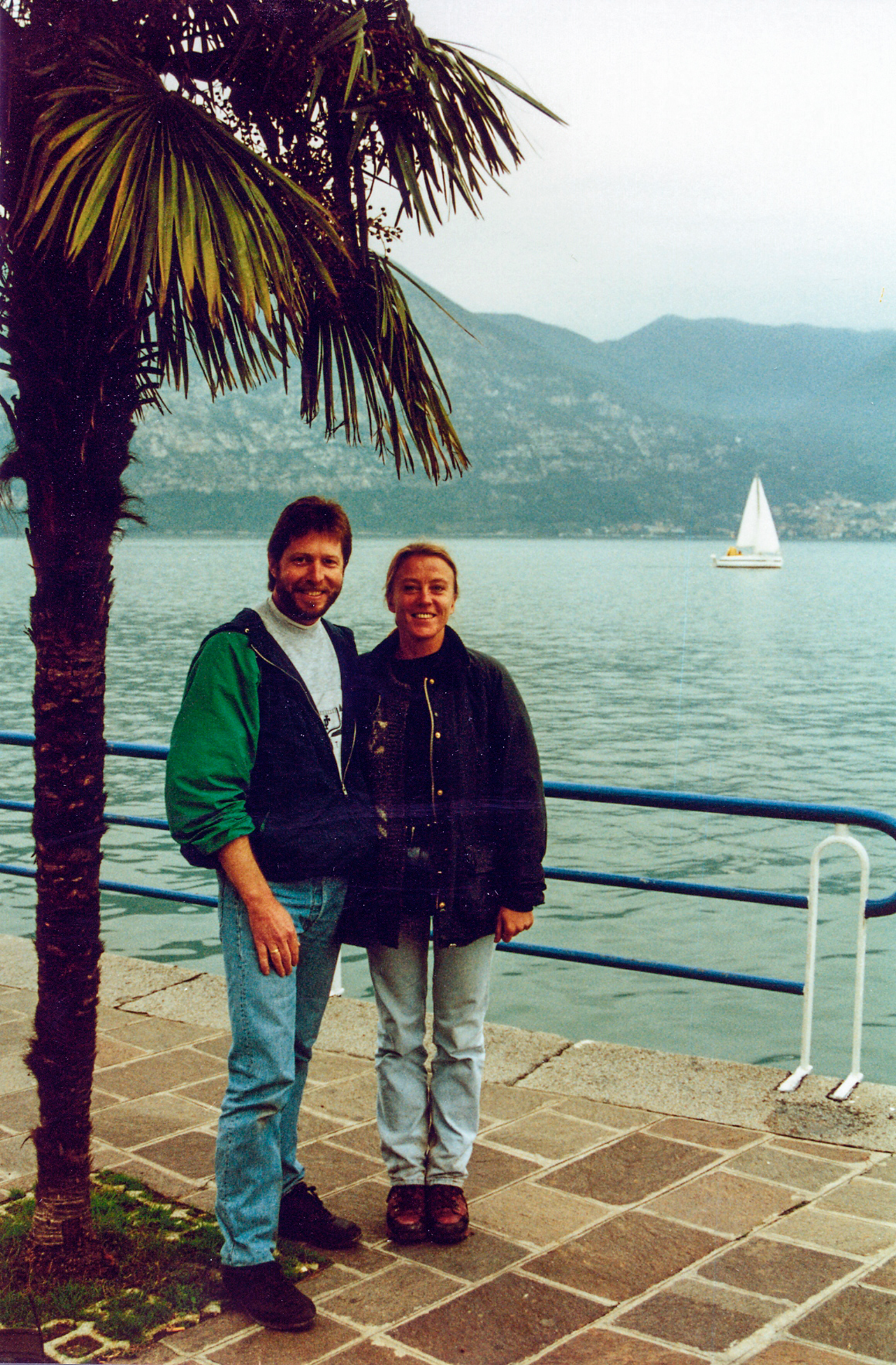 Northern Italy with my best friend and the greatest journalist I every worked for.