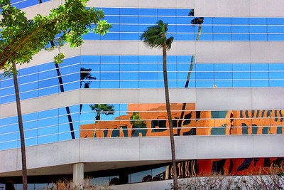 Distorted Reflection Riverside CA