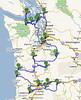 0 Tour Map