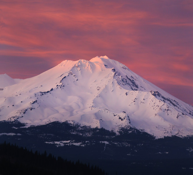 Magnificent Mount Shasta