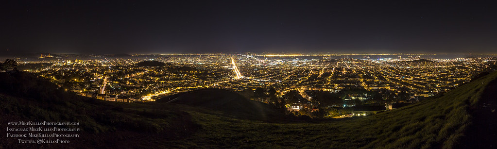 San Francisco from Twin Peaks