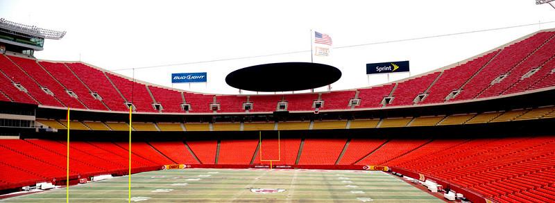 The new Arrowhead Stadium, Kansas City, MO