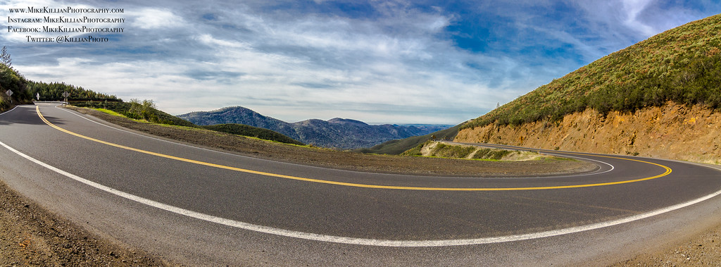 Scenic HWY-120 / Sierra Nevada Foothills, California