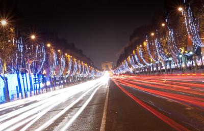 Champs Elysees Christmas Lights