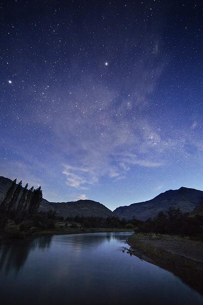 Night at Parque Patagonia