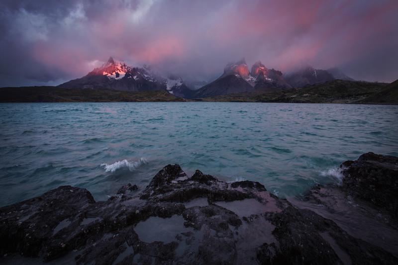 Daybreak at Cerro Torres