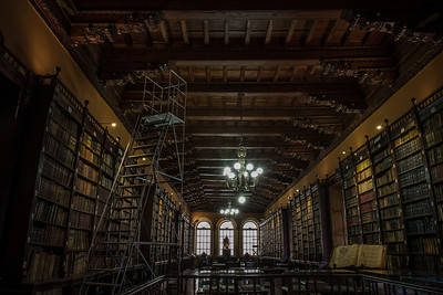 The smell of Old books-one of my favorite places-  Dominican Convent of Santo Domingo