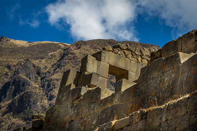 Sacred Shrine - Ollantaytambo