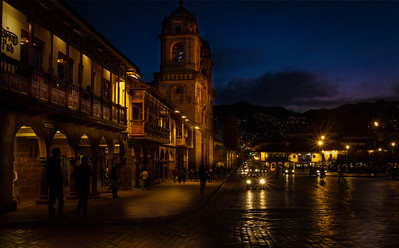Cuzco, Main Square