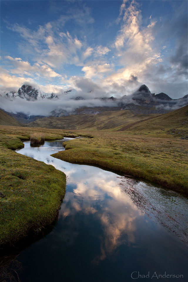 Mataconcha Stream at Sunset<br /> <br /> We were lucky enough to have 4 hours of rain and hail break just at sunset...