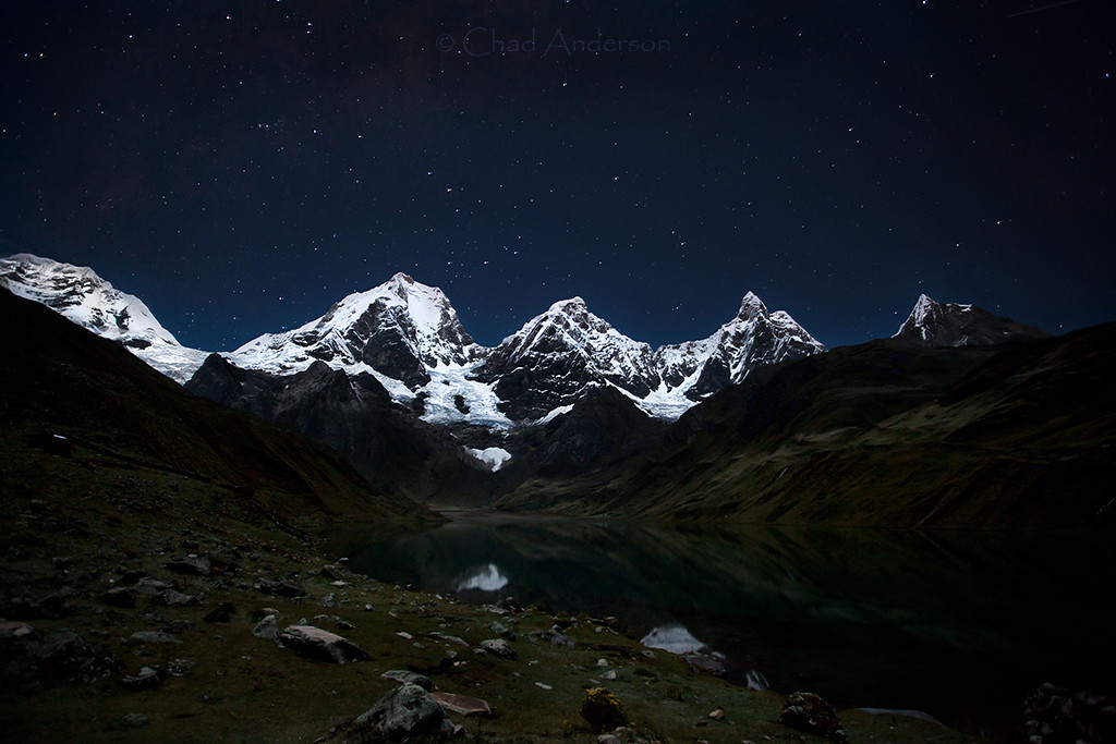 Starry Night over Huayhuash