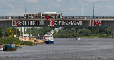 Earlier in the year, Novgorod had celebrated the 1155th anniversary of its founding.