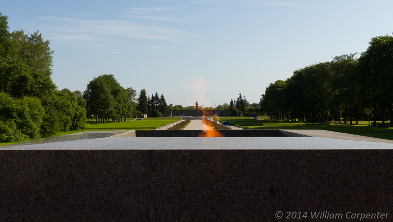 The eternal flame.