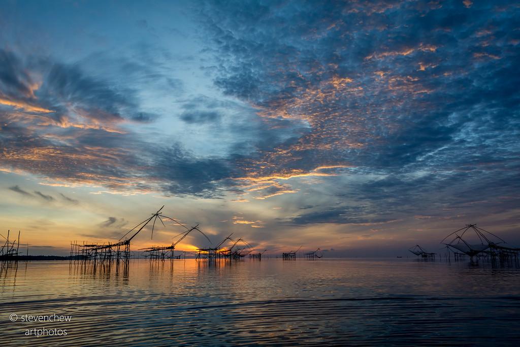 Sunrise at Phatthalung