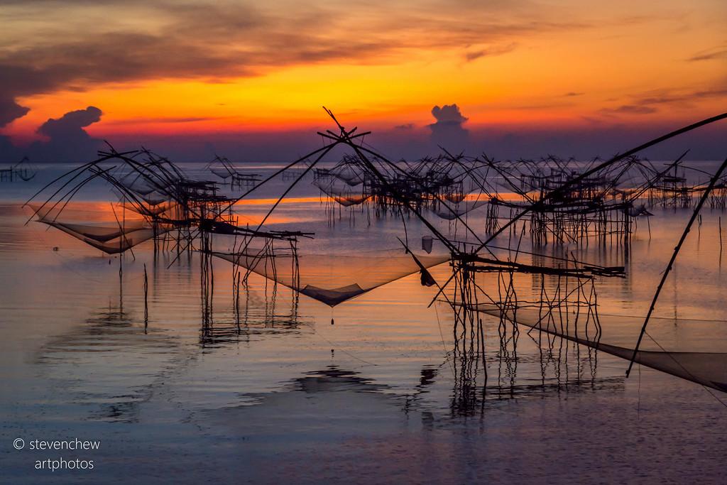 Sunrise at Fishing Village