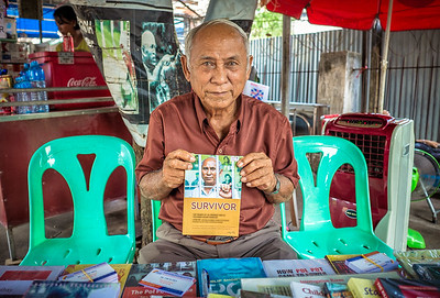 Chum Mey, one of only seven survivors of the Tuol Sleng prison.