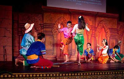 Cambodian living arts dance company