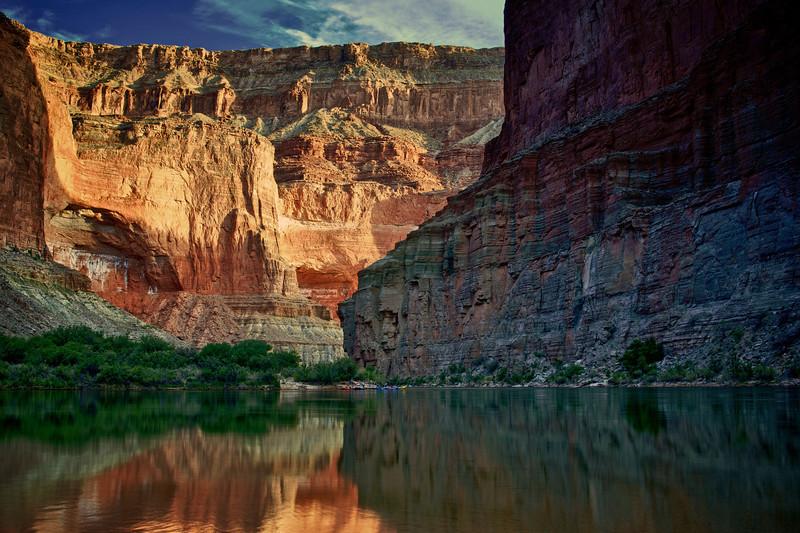 Below Saddle Canyon
