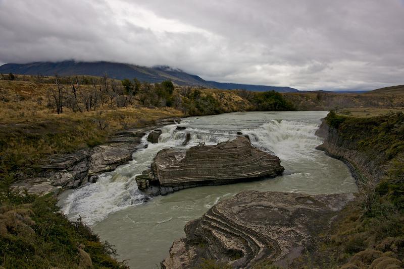 Patagonia 2009 - Rio Paine falls