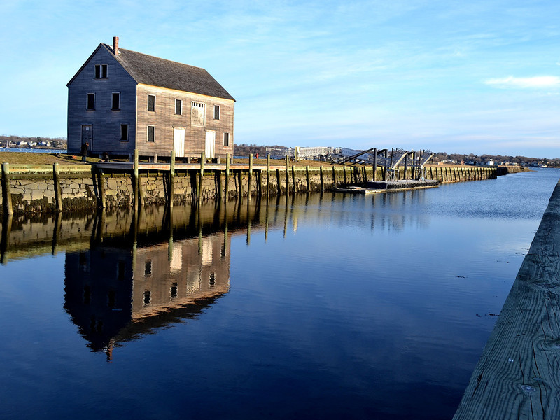 Idle Reflections, Pickering Wharf, Salem, MA, 2011