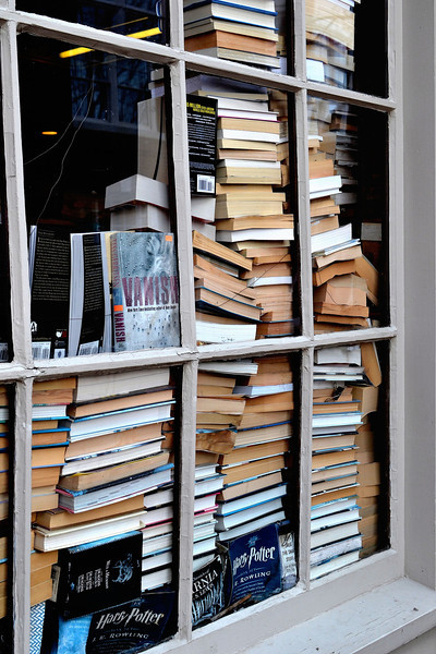 Bookshop Window, Salem, MA