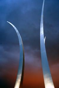 Air Force Memorial, Washington DC (2007).