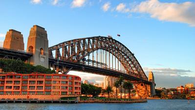 Harbour Bridge.  Sydney, Australia (2009).