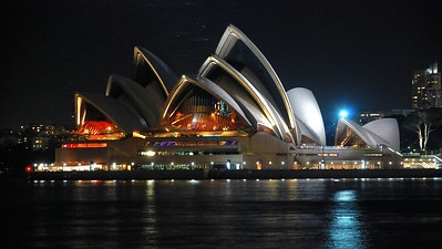 Sydney Opera House, Australia (2009).